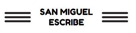 San Miguel escribe