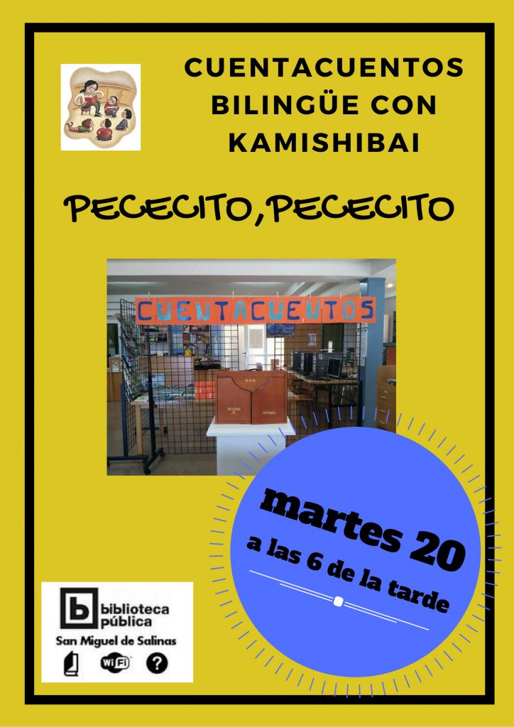 Cuentacuentos con kamishibai